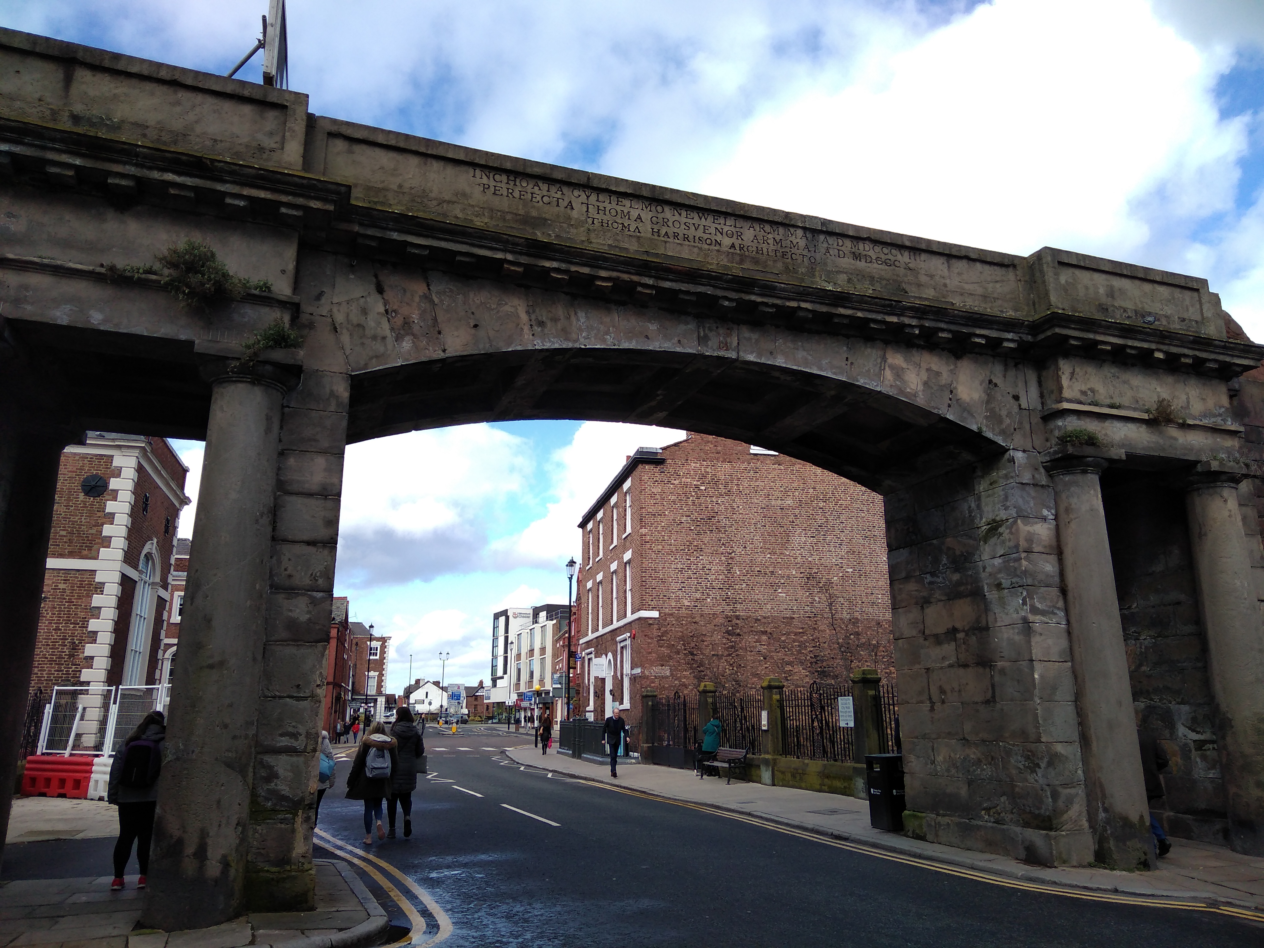 chester roman amphitheatre, chester, roman fort, chesters clock, roman city walls chester, explore chester, things to do in chester, chester high cross, britains oldest shopping arcade. black and white buildings of chester, domesday book town, chester city walls, river dee