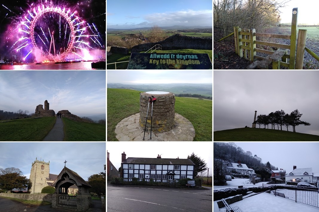 chirbury, project 101, travel in the uk, places of the uk, montgomery wales, not just a granny travels, montgomery castle,