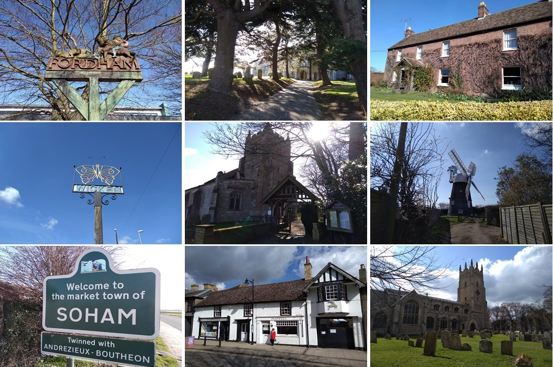 places of the uk, explore england, domesday book villages, fordham, wicken, soham
