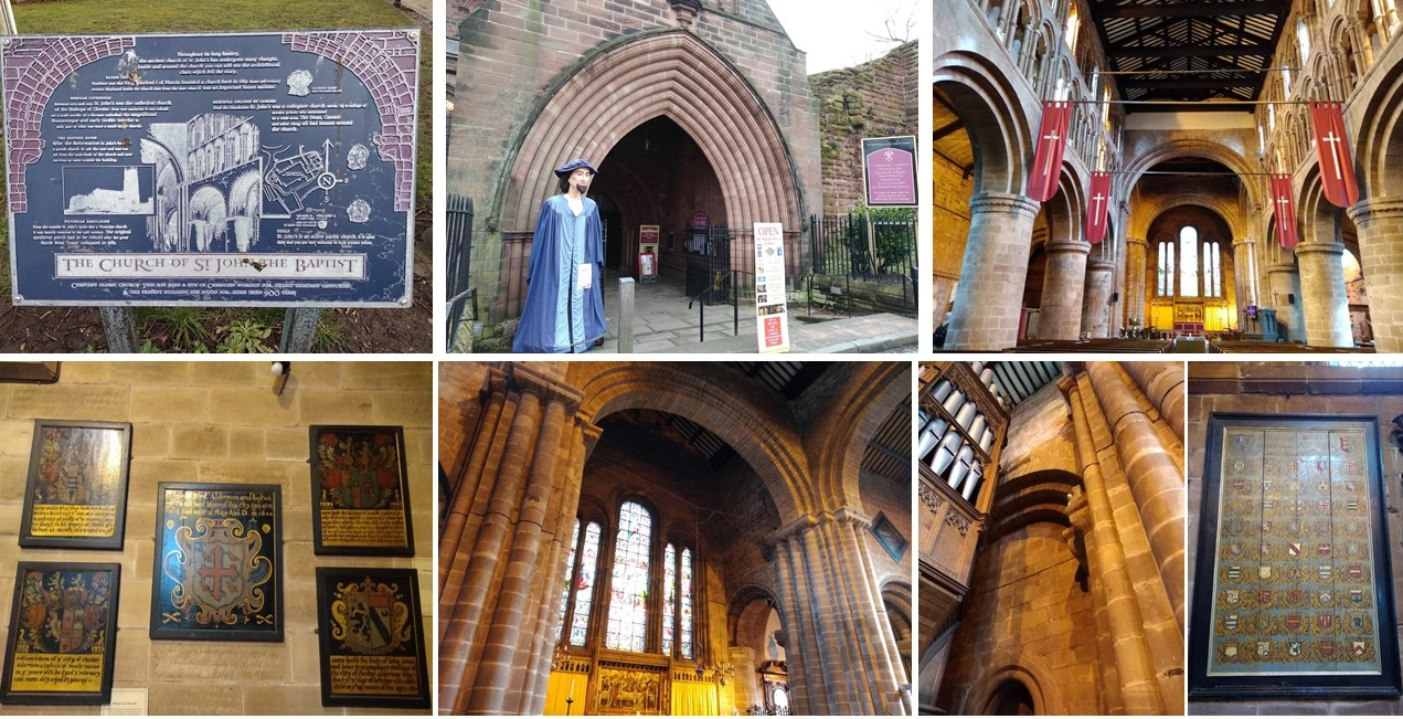 church of st john the baptist, chester canal, christleton, domesday village, the rows, chester city walls, chester, visit chester, things to do in chester, project 101, cities of england, roman cities