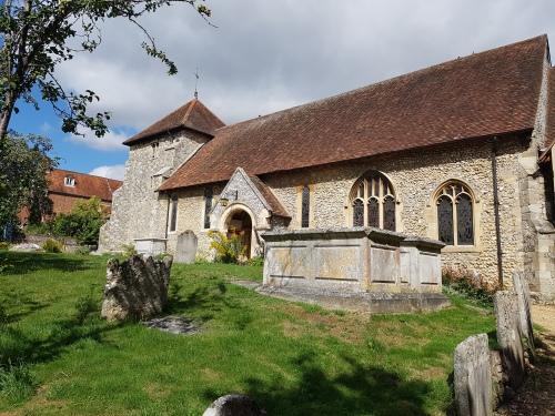 st bartholomews church wicnhester, hyde abbey, city of winchester, explore winchester, winchester, walking the pilgrims way
