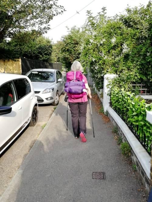 walking the pilgrims way, the pilgrims way winchester to canterbury, long distance walks in england, solo walking, women walking solo, walk 1000 miles