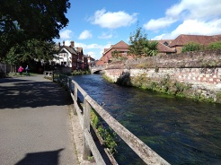 the wiers river itchen winchester, wolvesey castle winchester, jane austens house winchester, winchester, city of winchester, explore winchester, king alfreds walk,