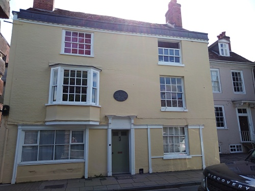 jane austens house winchester, winchester, city of winchester, explore winchester, king alfreds walk, st swithuns church