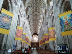 winchester cathedral, city of winchester, the pilgrims way, st swithuns shrine