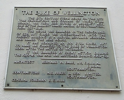the duke of wellington southampton england, explore southampton, visit southampton