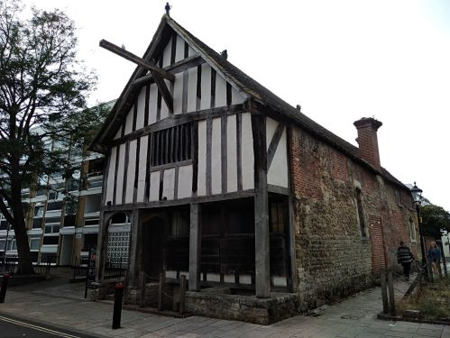 the medieval timber house southampton england, explore southampton, visit southampton