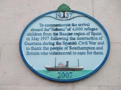 spanish civil war, southampton england, explore southampton, visit southampton (2)