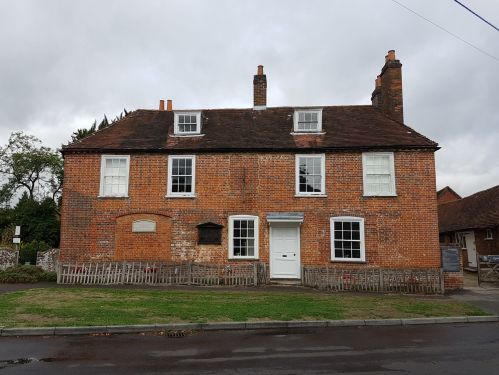 jane austens house museum, walking the pilgrims way, map my walk, winchester to canterbury along the pilgrims way, long distance walks uk, solo walking for women, domesday book villages, day 3 alton to farnham