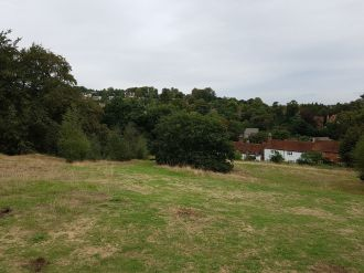 st catherines chapel guildford, st catherines chapel, walking the pilgrims way, the pilgrims way winchester to canterbury, long distance walks england, women walking solo