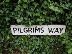 pilgrims way guildford, river wey, walking the pilgrims way, the pilgrims way winchester to canterbury, long distance walks england, women walking solo