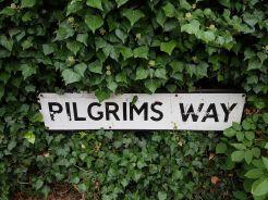 pilgrims way guildford, river wey, walking the pilgrims way, the pilgrims way winchester to canterbury, long distance walks england, women walking solo