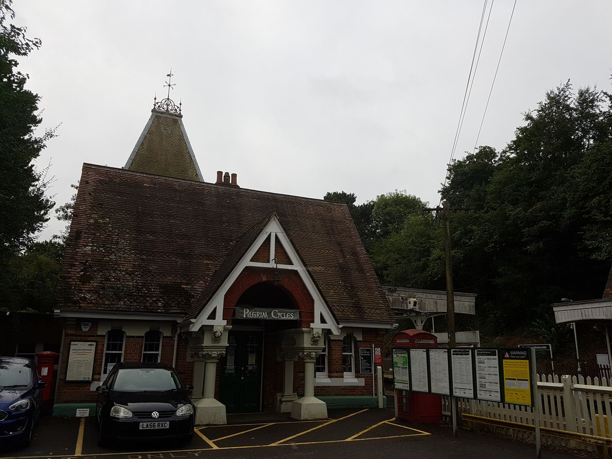 box hill and westhumble station, yha tanners hatch, walking the pilgrims way, the pilgrims way winchester to canterbury, long distance walks england, women walking solo