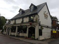 stepping stone pub, box hill, walking the pilgrims way, the pilgrims way winchester to canterbury, long distance walks england, women walking solo