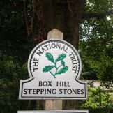 stepping stones box hill, the national trust, box hill, walking the pilgrims way, the pilgrims way winchester to canterbury, long distance walks england, women walking solo
