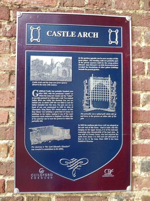 castle arch, guildford castle, explore guildford, saxon guildford, exploring guildford, walking the pilgrims way, long distance walks england, women walking solo