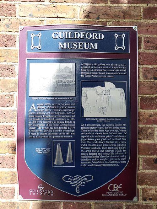 guildford museum, castle arch, guildford castle, explore guildford, saxon guildford, exploring guildford, walking the pilgrims way, long distance walks england, women walking solo