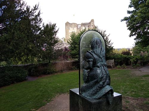 alice through the looking glass, guildford castle, explore guildford, saxon guildford, exploring guildford, walking the pilgrims way, long distance walks england, women walking solo