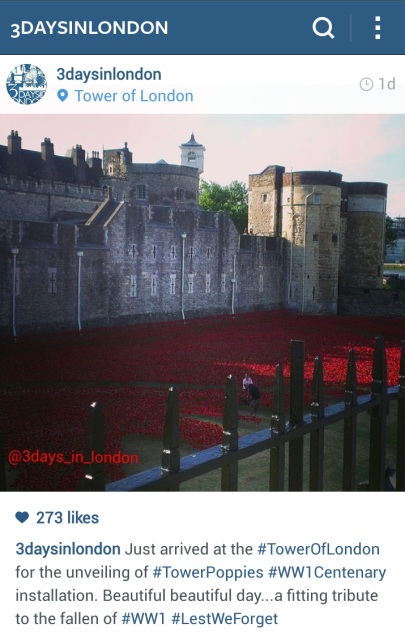 tower of london, Blood Swept Lands and Seas of Red, tower poppies, poppies tour, 100th anniversary armistice, world war one