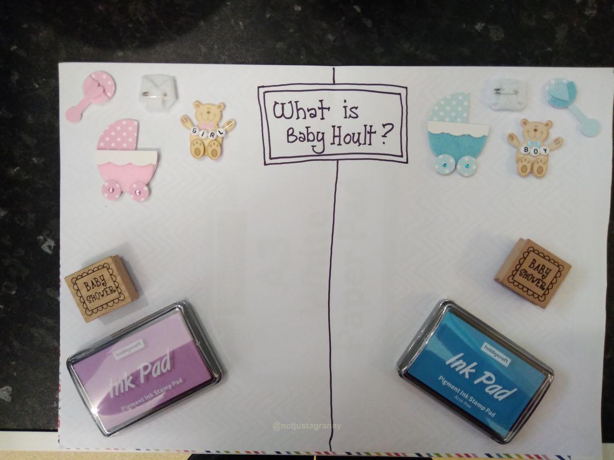 baby shower, gender reveal, helter skelter nursery