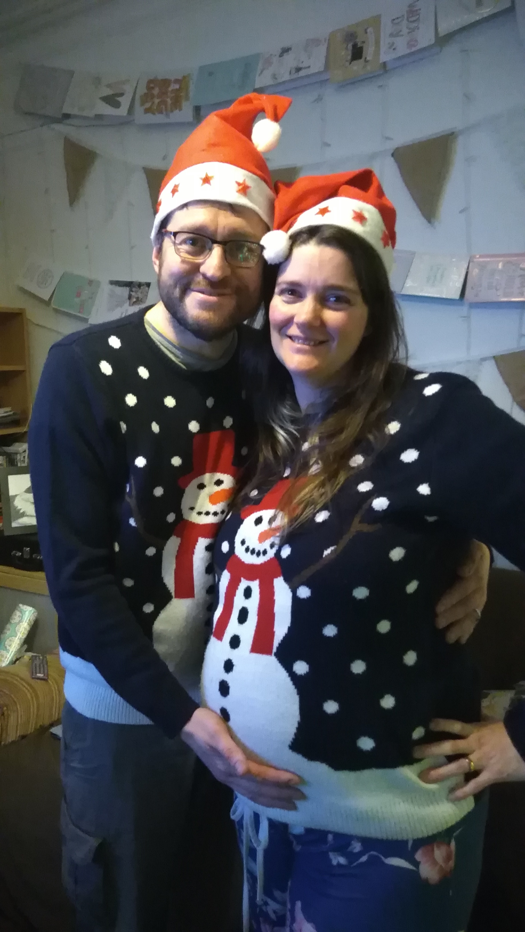 christmas jumper, pregnancy