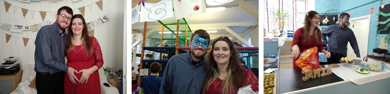 baby shower, gender reveal, helter skelter nursery broadstairs