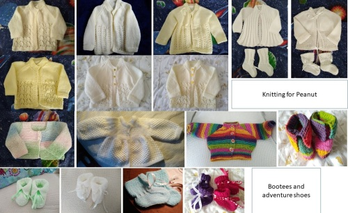 knitting for babies, baby layette