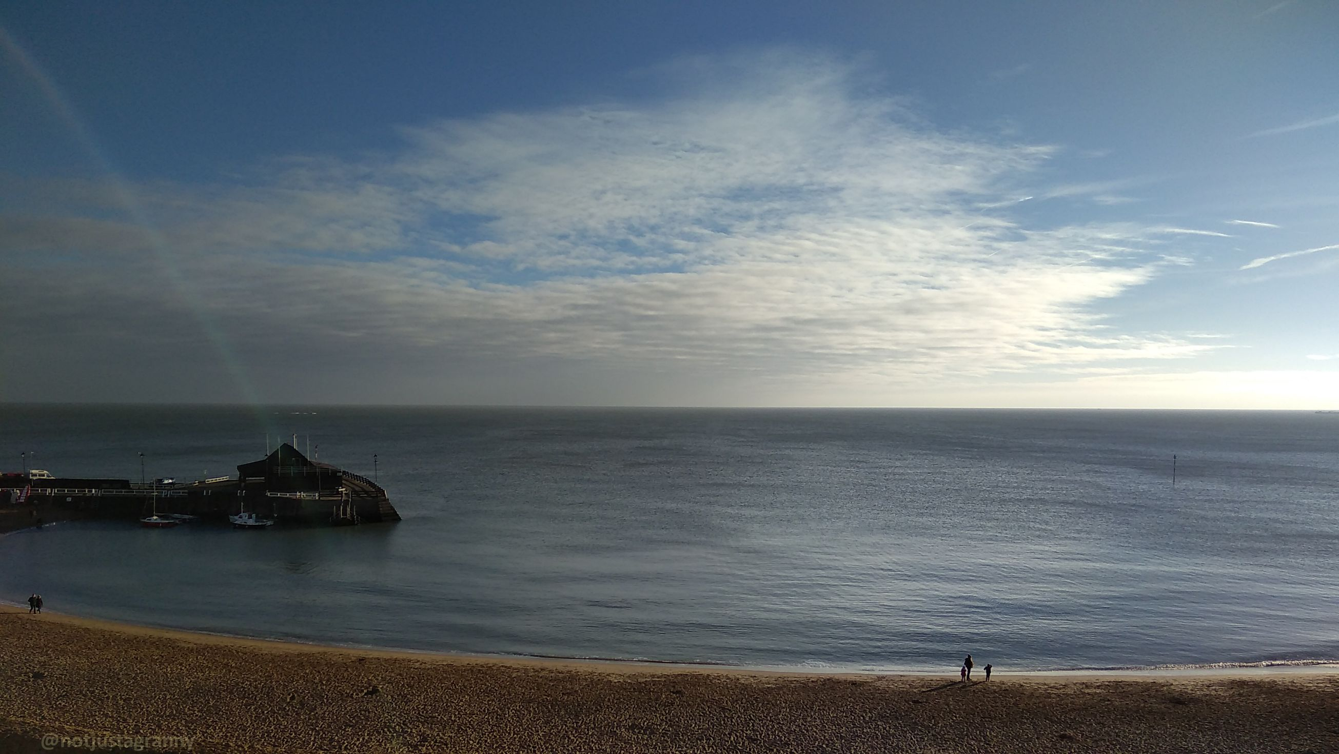 walk 1000 miles, viking bay broadstairs, walks in england, new years day swim