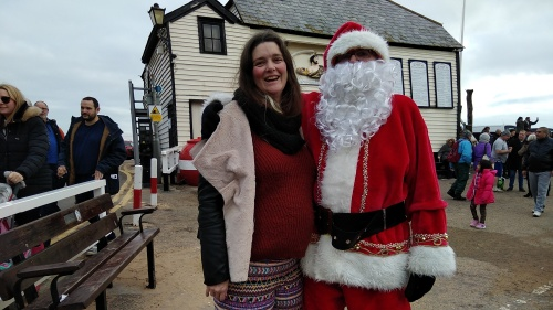 walk 1000 miles, broadstairs, new years day swim, meeting santa