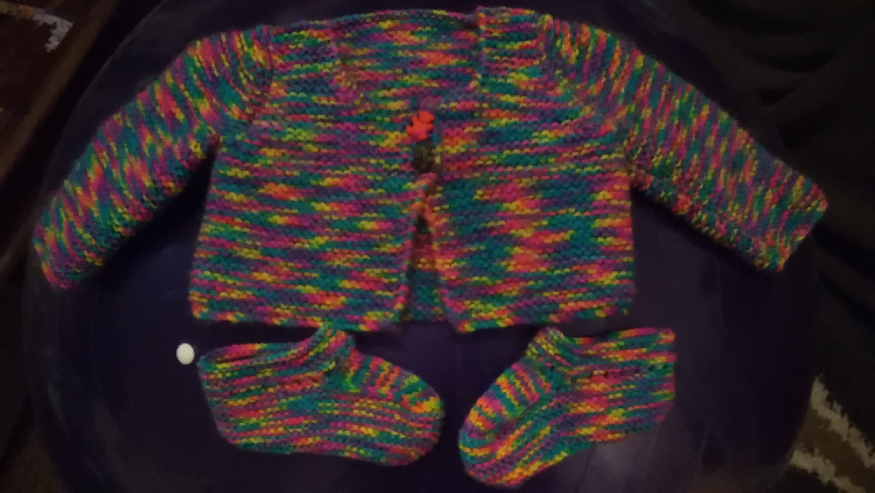 knitting for babies, hand knitted clothes for babies, baby layette, matinee jacket