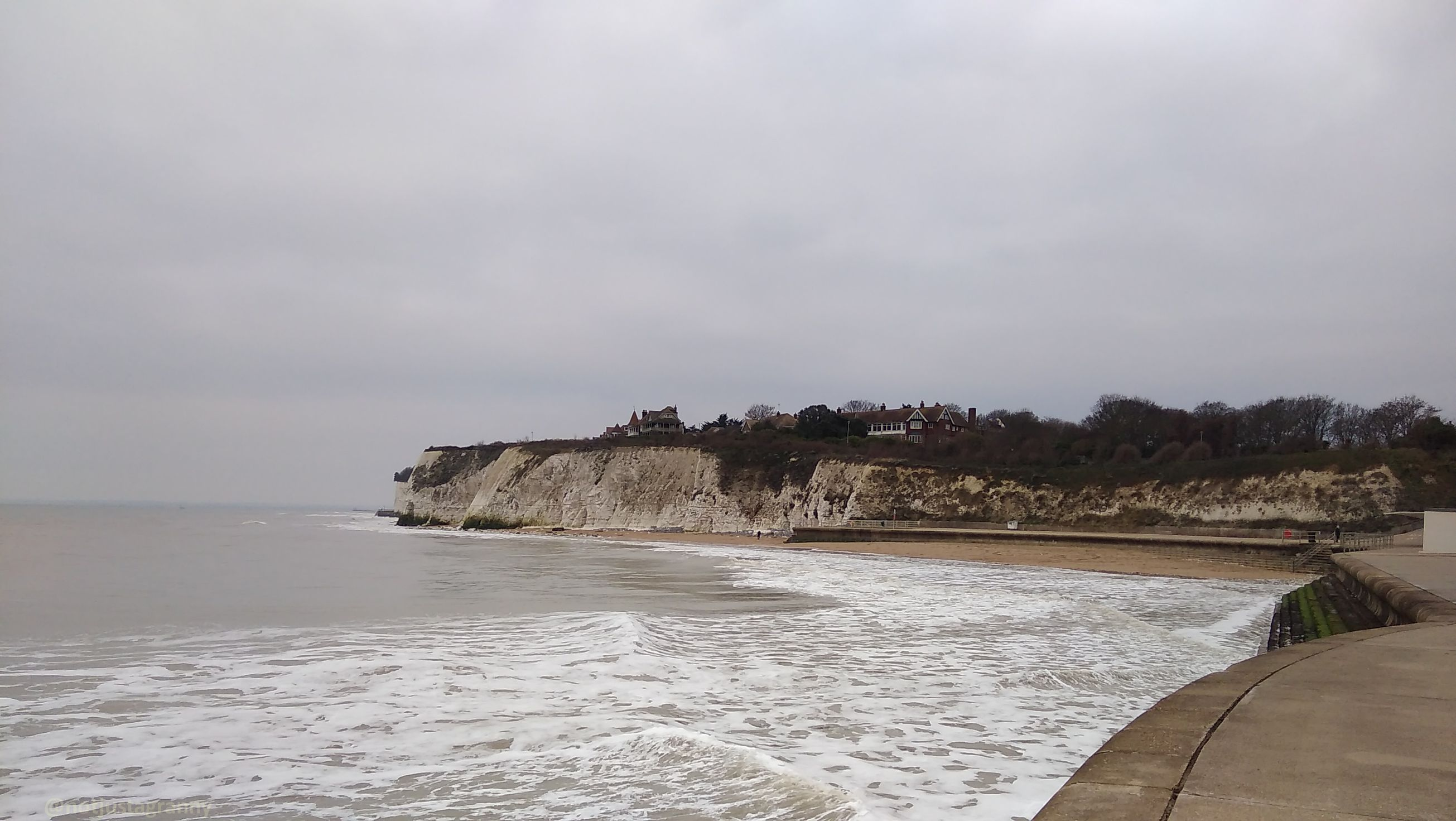 walk 1000 miles, walks along the coastal path england, walks on the isle of thanet, map my walk