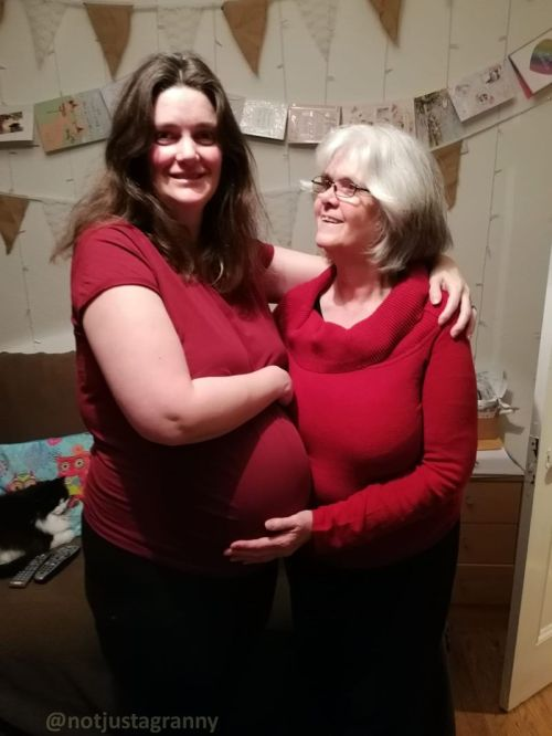mummy to be and granny to be