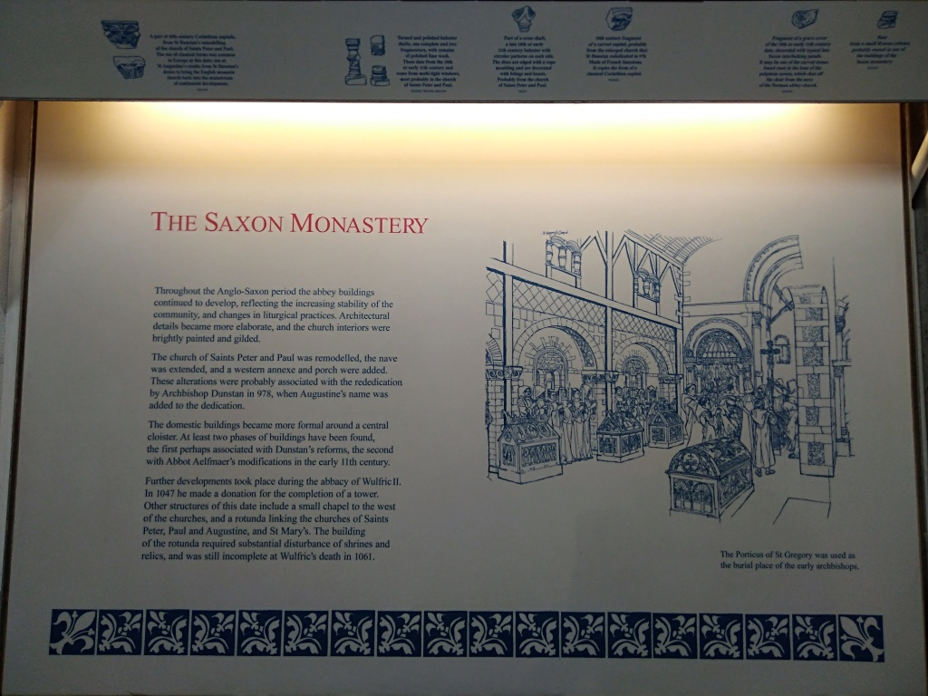 the saxon monastery