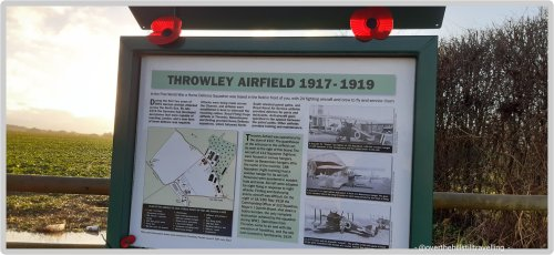 first world war throwley airfield