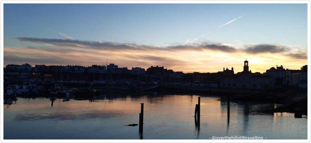 sunset in thanet